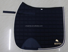 DRESSAGE HORSE SADDLE PAD WITH DIAMONDS