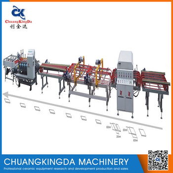 XTQ-2 (5+1) Full Automatic Dry Type Ceramic Tile Single Blade Cutting Machine Production Line
