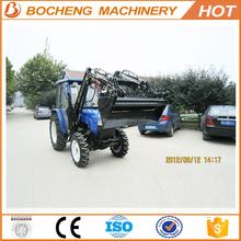 Manufacturer Supply 70HP 4WD Tractor with Front End Loader and Backhoe
