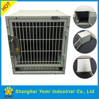 Modular stainless steel dog cage