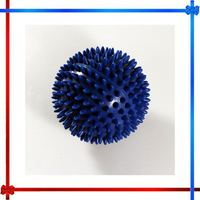 BW007 Fitness Massage Ball eco-friendly PVC gym hand spiky 9CM Hand and foot massage ball