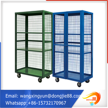 legal new lockable storage cage with wheels