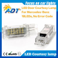 Led courtesy light lamp for Mercedes W203 4D 5D, W207
