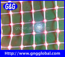 Flexible led mesh video display portable soft led lights roll up professional round video avertising curtain/xxx China photo