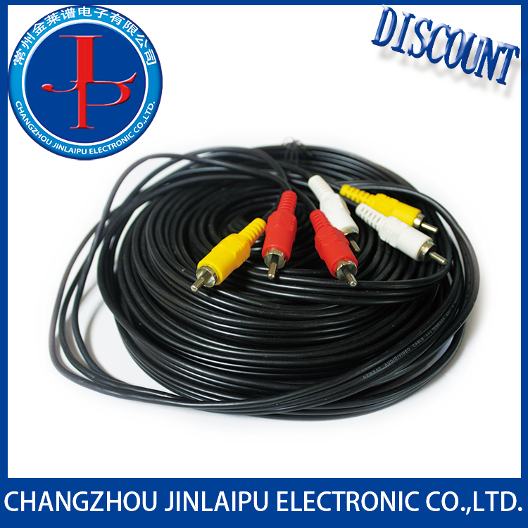 Jinlaipu 15 pin vga to 3 rca splitter cable With Bottom Price