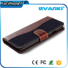 Alibaba China unique design magnetic phone shell with ID&Credit card pockets case for apple for Iphone 7