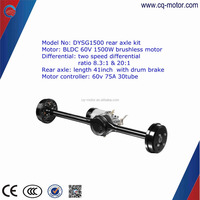 Factory Price Electric Car/pump High Effective Rear Axle Brushless 2000w Dc Motor
