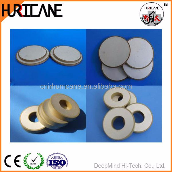 piezoelectric element, piezoelectric disc,piezo rings PZT-5A