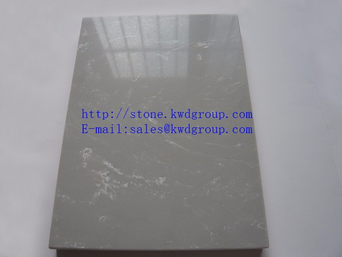Carrara and Calacatta Marble Color White Veins Grey Quartz Stone,Quartz Slab