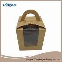 Newest Design High Quality Paper Cupcake Box