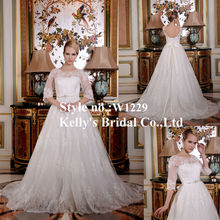 china supplier royal white wedding dresses in dubai