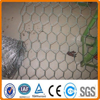 "1/2"" hexagonal wire netting/Electro Galvanized Hexagonal Wire Mesh/30m length iron wire mesh"
