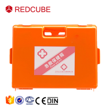 Top Quality Empty Plastic Emergency First Aid Kit Box with Lock and Handle