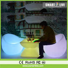 Mood cube chairs,home bar furniture/bar chairs/illuminated led cube chair