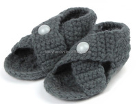 Roman New Handmade Knitted Shoes Sandal Baby Shoes Wholesale