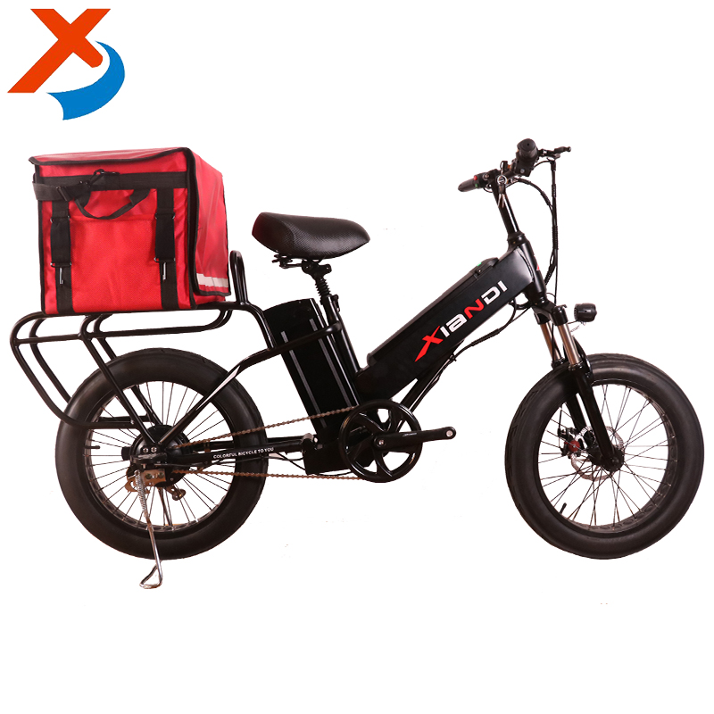 "2017 newest dual batteries 500W 48V 35Ah 20 inch "" fat tire electric bicycle, food delivery electric bike 20 inch"