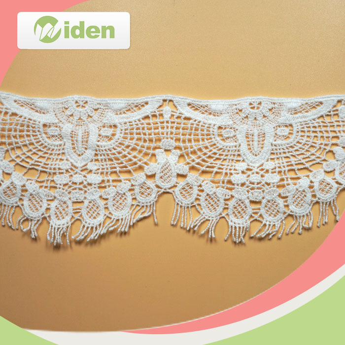 Exquisite Indian Dress Laces Chantilly Trim Lace Cotton Chemical Lace