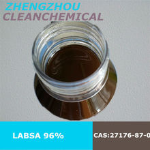 Clean Chemical Dodecyl benzene sulphonic acid/LABSA 96% from gloden supplier