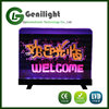 2016 Good Quality Transparent LED Writing Board 20*30cm