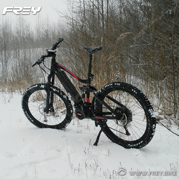 Intelligent Electric Snow Mountain Bike With SHIMANOXT M8000 11/46T