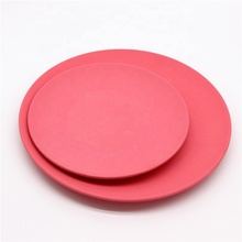 Biodegradable bamboo fiber kids custom printed dinner <strong>plate</strong> FDA certified