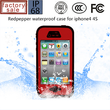 Redpepper Case Waterproof Case IP67 for iPhone 4 4S
