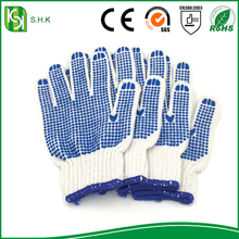 High Performance Soft Hands Cotton Gloves making by machine
