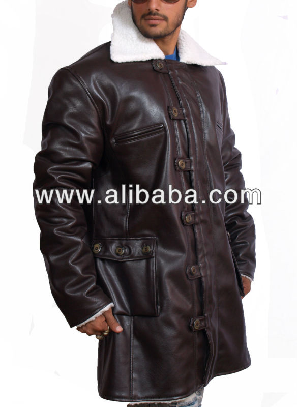 "An Inspired Replica Bane Coat From the Movie ""The Dark Knight Rises"" Available in Faux Leather"