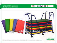 playing mat collecting trolley