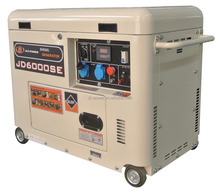 mobile protable air coolded emergency 5kv diesel generator