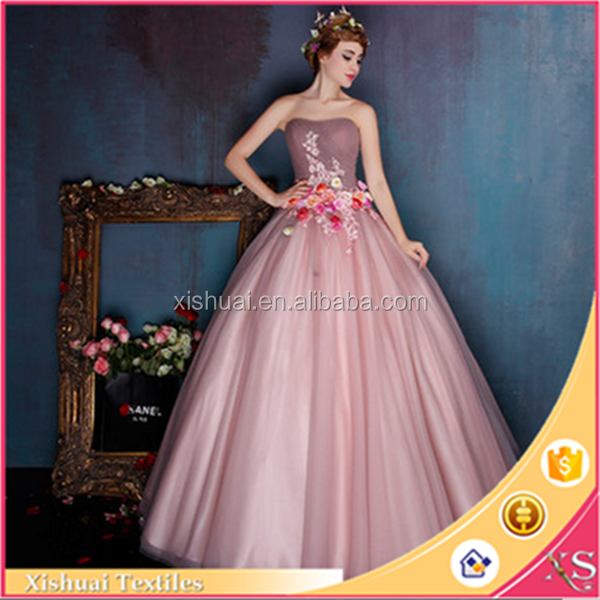 Bridal Mesh Tulle Dress Fabric Grown For High Quality Wedding