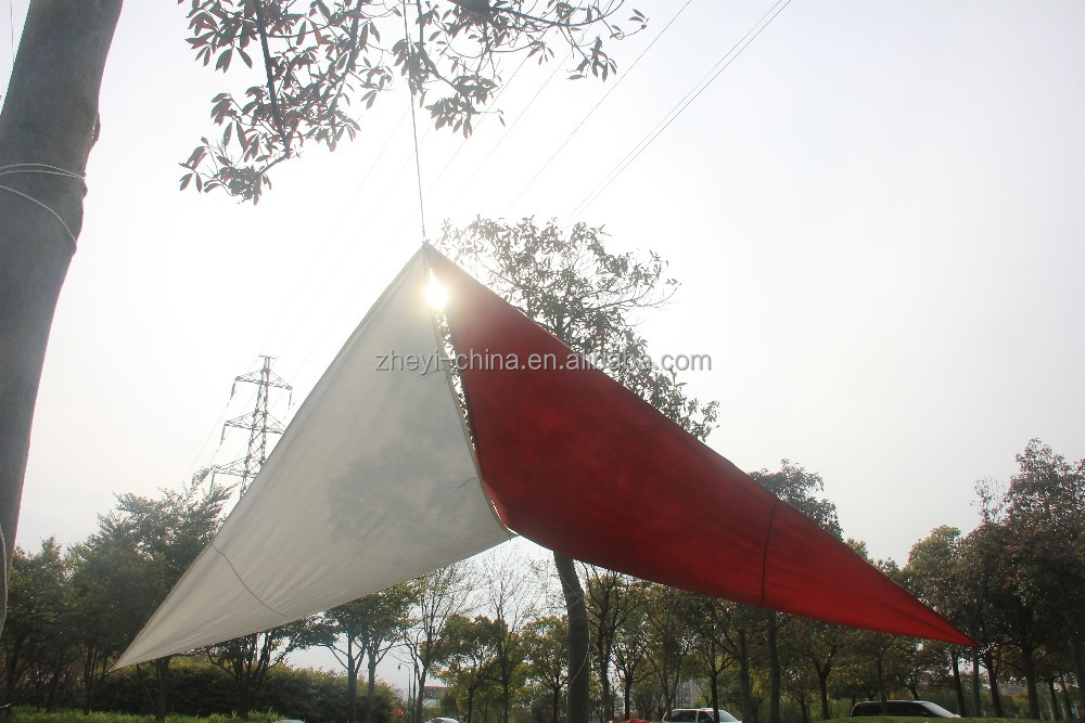 outdoor waterproof shade sail fabric