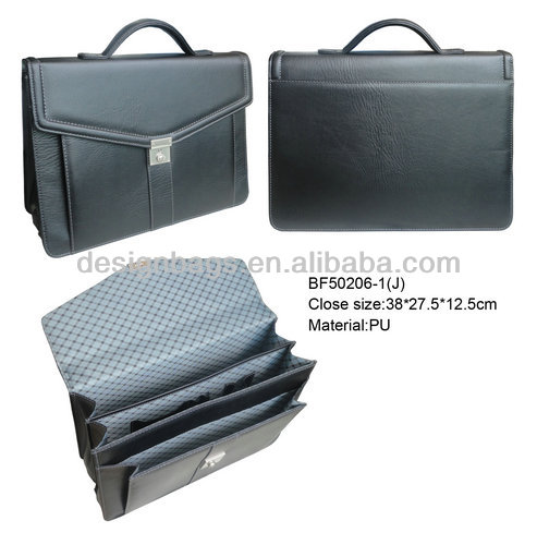 Hot selling brown leather briefcase bag/business briefcases bag/cool men briefcases