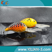 2016 new arrival vivid 3D eyes artificial crab bait wholesale fishing bait and tackle