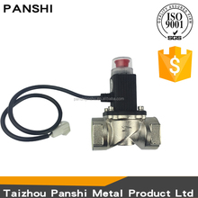 Professional gas valves kitchen durable threaded DN25A gas emergency shut off solenoid valve