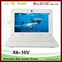 10 inch top sale cheap Laptop Notebook 1GB 4GB With RJ45 Multi-language