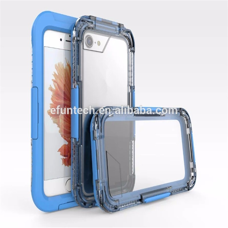 High quality cheap price diving use waterproof mobile phone case for iphone 7