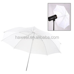 33 inch Flash Light Soft Diffuser White Umbrella(White)