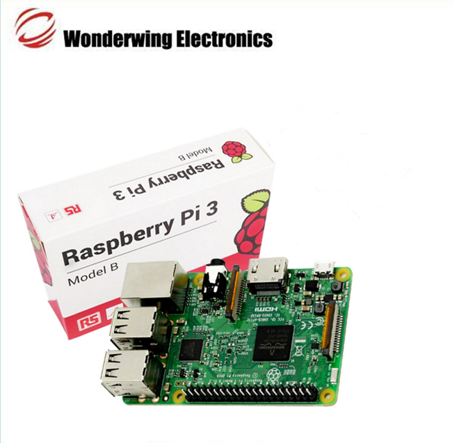 High quality Raspberry Pi Model 3 B development board with wifi and bluetooth
