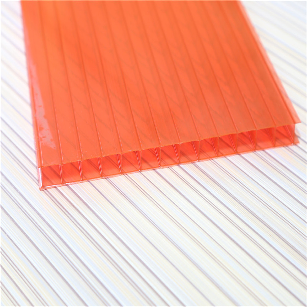 10mm polycarbonate hollow sheet/Bulding Material/Plastic Roofing