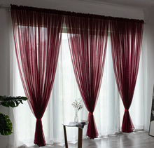 Super Soft Sheer Fabric , Online <strong>Sale</strong> Used Hotel Polyester Voile Sheer Curtains/