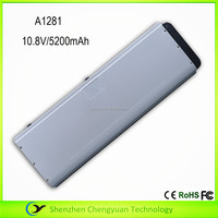 10.8V 5200mAh notebook computer battery for Apple Macbook Pro A1281 battery