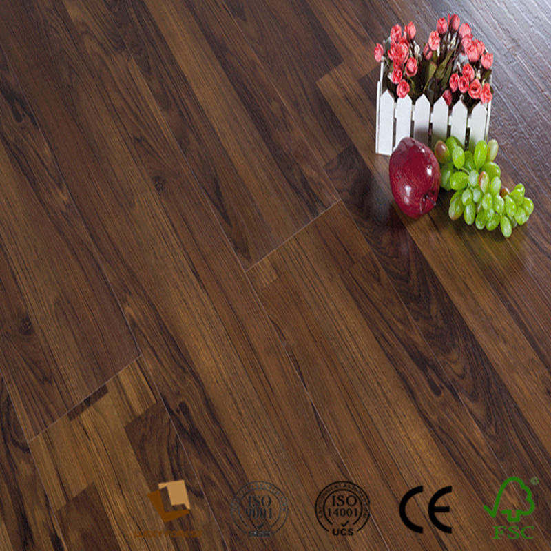 factory direct sale wood grain import export laminate flooring