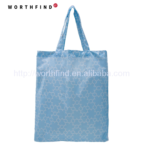 Large Polyester Shopping Bag 190T/210D Foldable Grocery Bag With Seperated Pouch