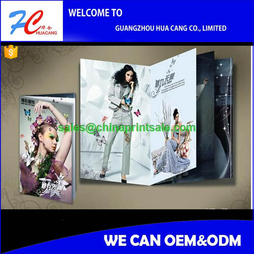 Wholesale Custom Cheap Hard Cover Perfect Bound Book/Magazine/Cookbook/Catalog printing splendid hardcover magazine printing