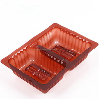 PP plastic disposable blister biscuit cookie tray