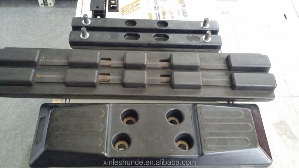 Excavator PC75 Rubber Track Pad Rubber Shoe Rubber Pad