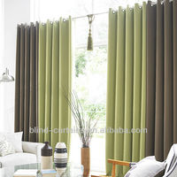 design jacquard fabric curtain for living room made in Dongguan,China