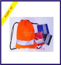 Promotional fashion cheap 4 colors polyester drawstring bag from china supplier