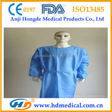 HD-31156 Disposable Medical Clothes for Surgical Operation Operation Clothes XXXL Surgical Coat
